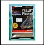 PELETY CRUSH(drcené) HALIBUT BLACK do 0,8mm 0,5 kg