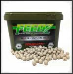 Boilies FEEDZ WHITE FISH HALIBUT 4kg