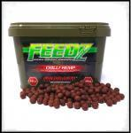 Boilies FEEDZ CHILI HEMP 4kg