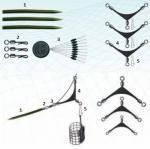 Slipping feeder fixing set